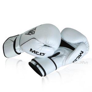MCD White 16oz Boxing Gloves