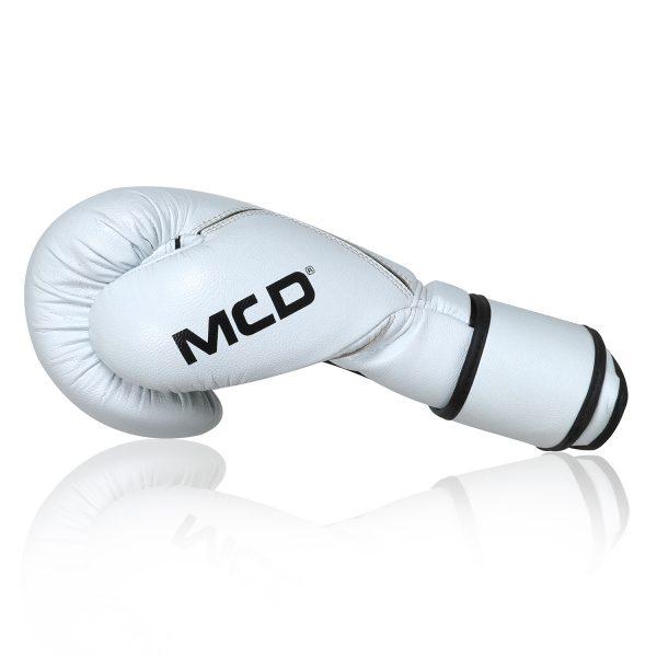 MCD White 14oz Boxing Gloves