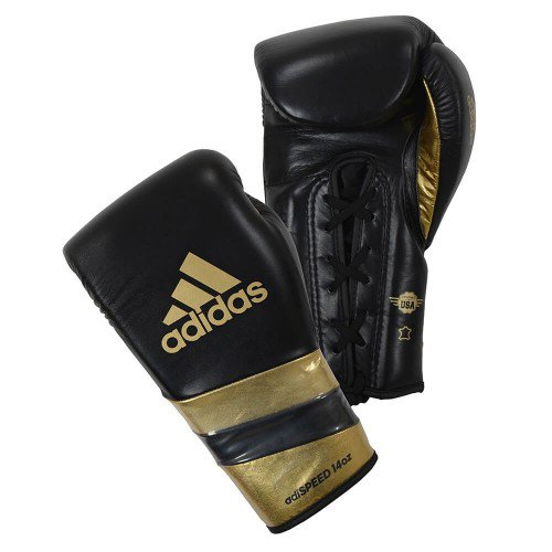 ADIDAS ADISPEED 500 LACE BOXING GLOVES (1)