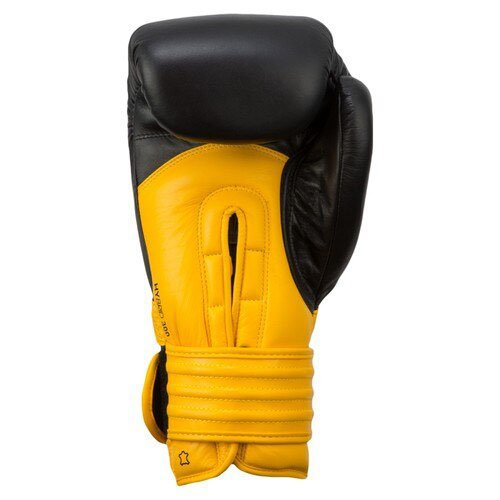 ADIDAS BOXING GLOVES YELLOW BLACK 12 OZ