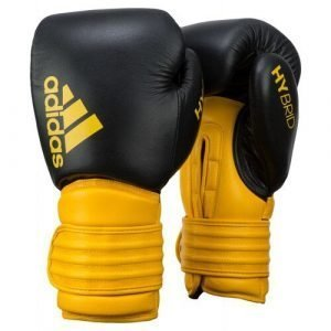 ADIDAS BOXING GLOVES YELLOW BLACK 14 OZ