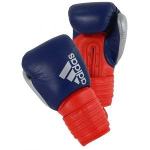 ADIDAS HYBRID 300X GLOVES BLUE RED