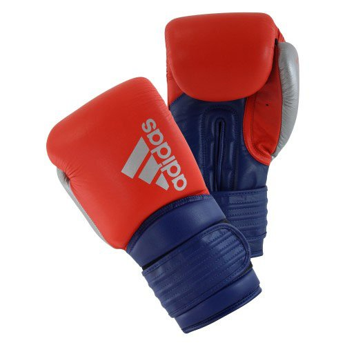 ADIDAS BOXING GLOVES RED BLUE
