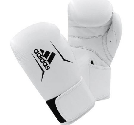 ADIDAS SPEED 175 BOXING GLOVES WHITE