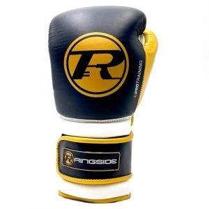 Ringside Boxing Gloves Black Yellow
