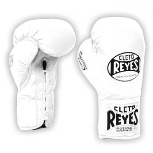 CLETO REYES WHITE BOXING GLOVES