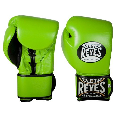 CLETO REYES BOXING GLOVES GREEN LIGHT