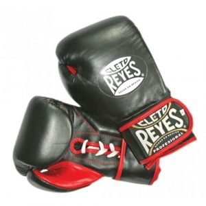 CLETO REYES BOXING GLOVES BLACK AND RED