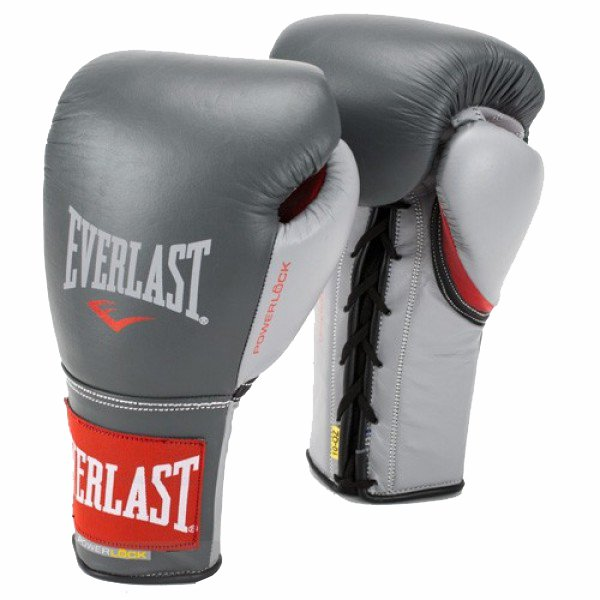 Everlast Powerlock Pro Fight Boxing Gloves 2