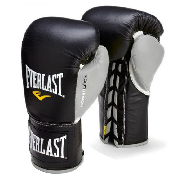 Everlast Powerlock Pro Fight Boxing Gloves 4