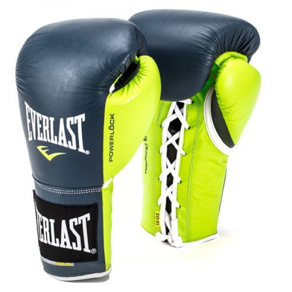 Everlast Powerlock Pro Fight Boxing Gloves 6