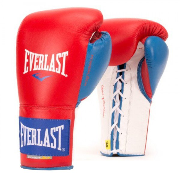 Everlast Powerlock Pro Fight Boxing Gloves 8