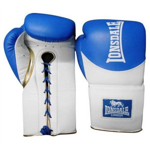 LONSDALE L60 LEATHER LACE UP TRAINING GLOVES (1)