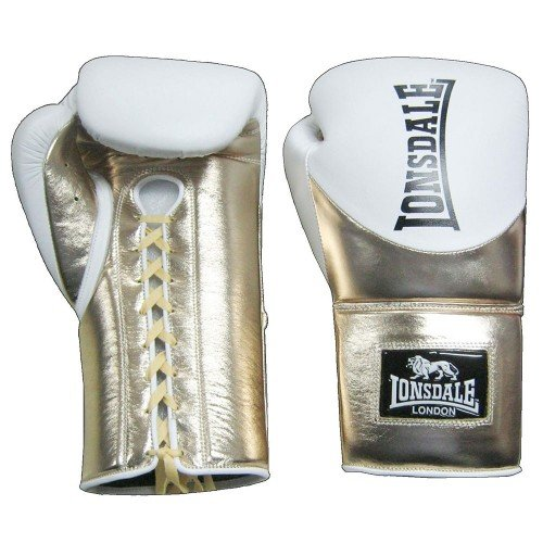 LONSDALE L60 LEATHER LACE UP TRAINING GLOVES (2)