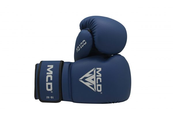 MCD AD100 BOXING TRAINING GLOVES BLUE