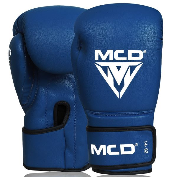 MCD AD100 Boxing Gloves Blue Womens