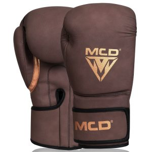 MCD AD100 Boxing Gloves Brown Mens