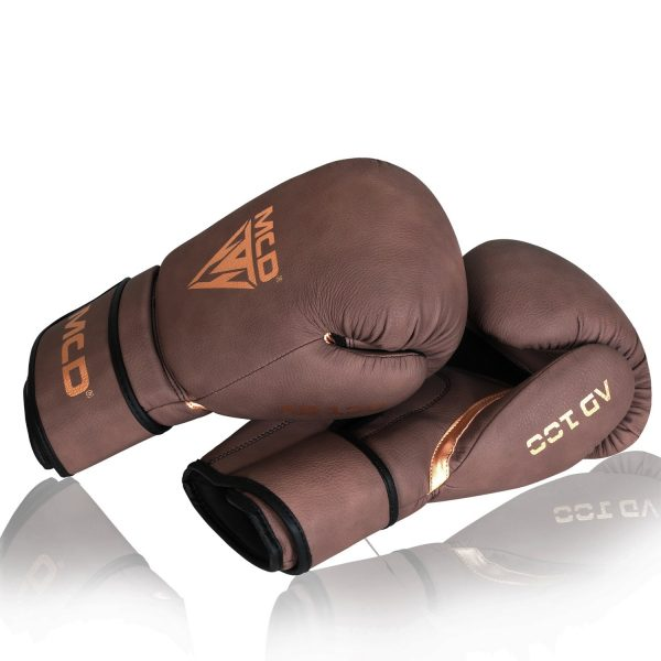 MCD AD100 Boxing Gloves Brown Womens