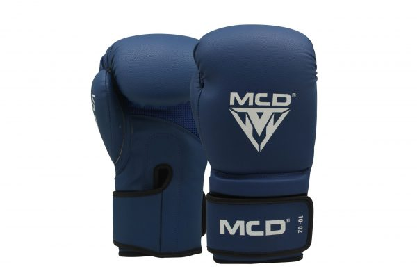 MCD AD100 PROFESSIONAL BOXING TRAINING GLOVES BLUE