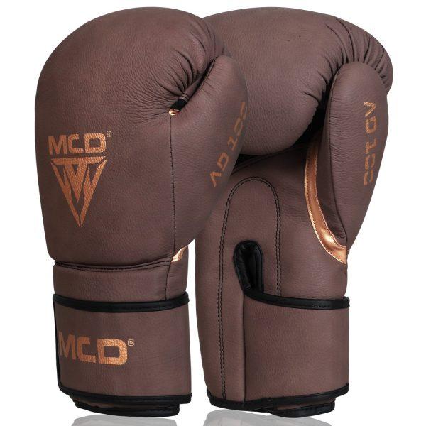 MCD AD100 Punchbag Boxing Gloves Brown