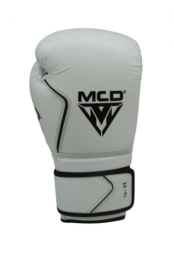 MCD AD100 PRO BOXING GLOVES WHITE