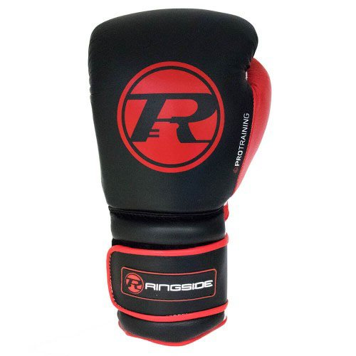 Ringside Boxing Gloves Black Red