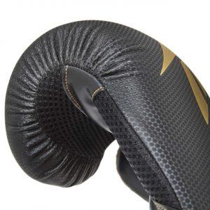 Reebok boxing gloves black gold 10 oz