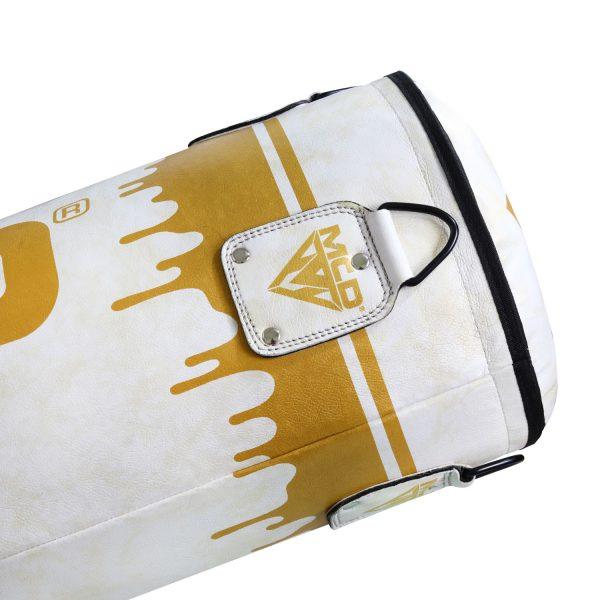 MCD Punch Bag White Gold