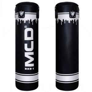 MCD Black Silver Punch Bag