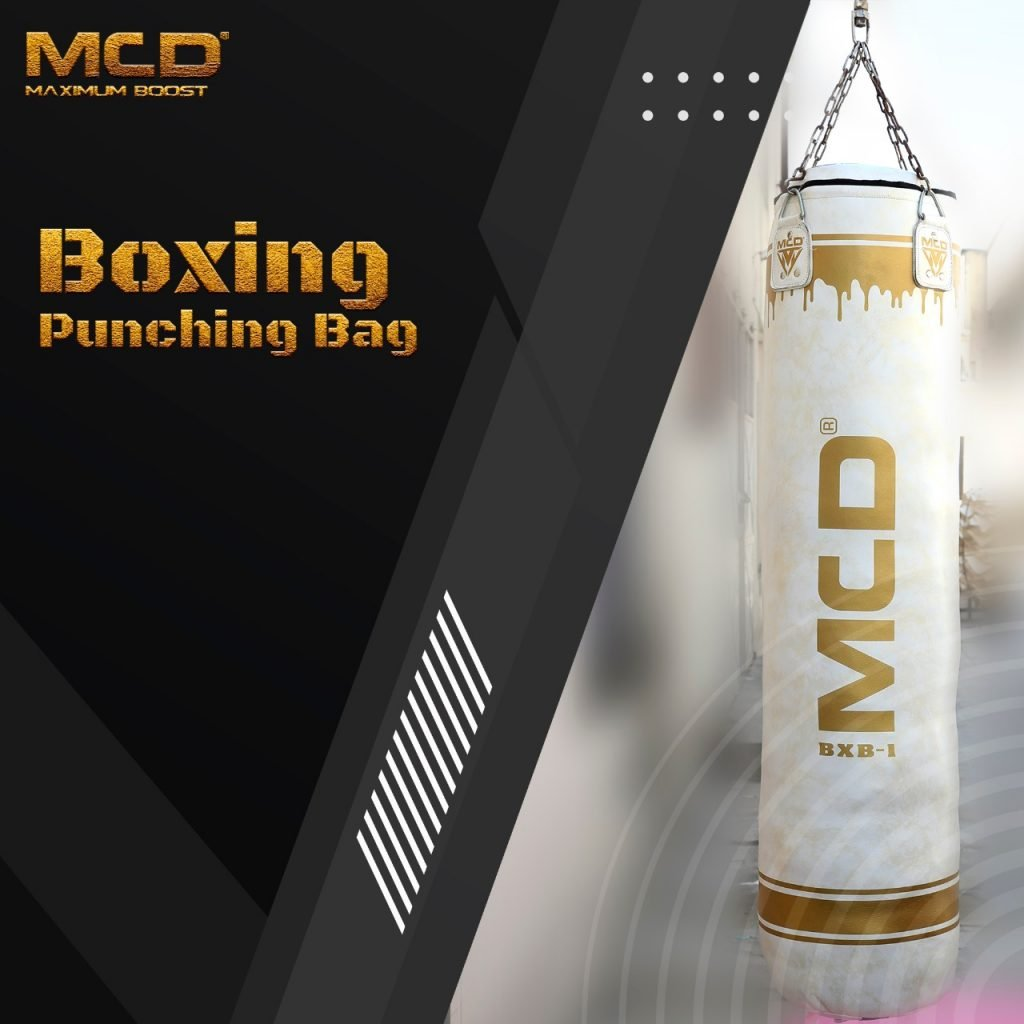 MCD White Punchbag