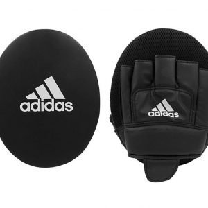 Adidas Boxing Gloves & Focus Mitt Set Black