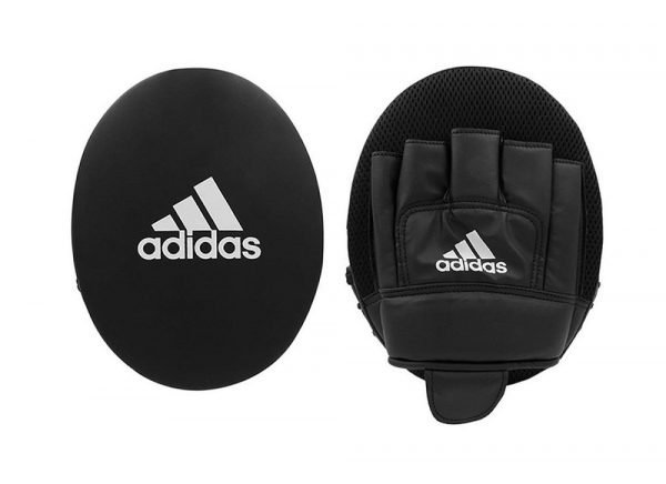 Adidas Boxing Gloves & Focus Mitt Set Black