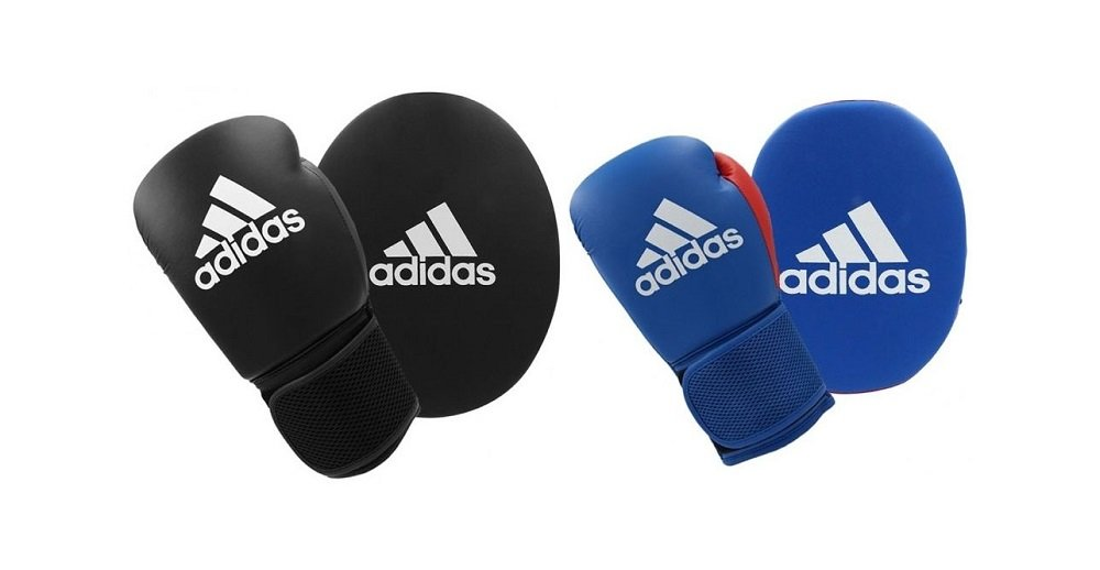 Adidas Boxing Gloves & Focus Mitt Set