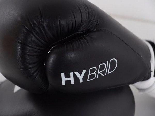 Adidas Hybrid 100 Boxing Gloves Black