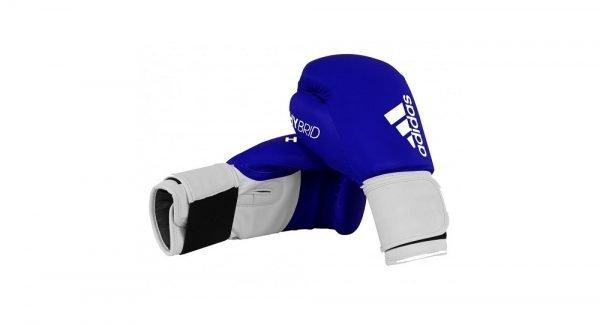 Adidas Hybrid 100 Boxing Gloves Blue