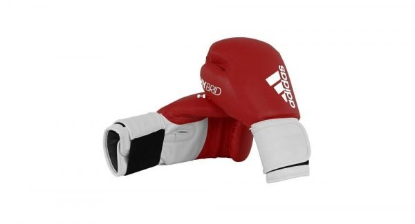 Adidas Hybrid 100 Boxing Gloves Red