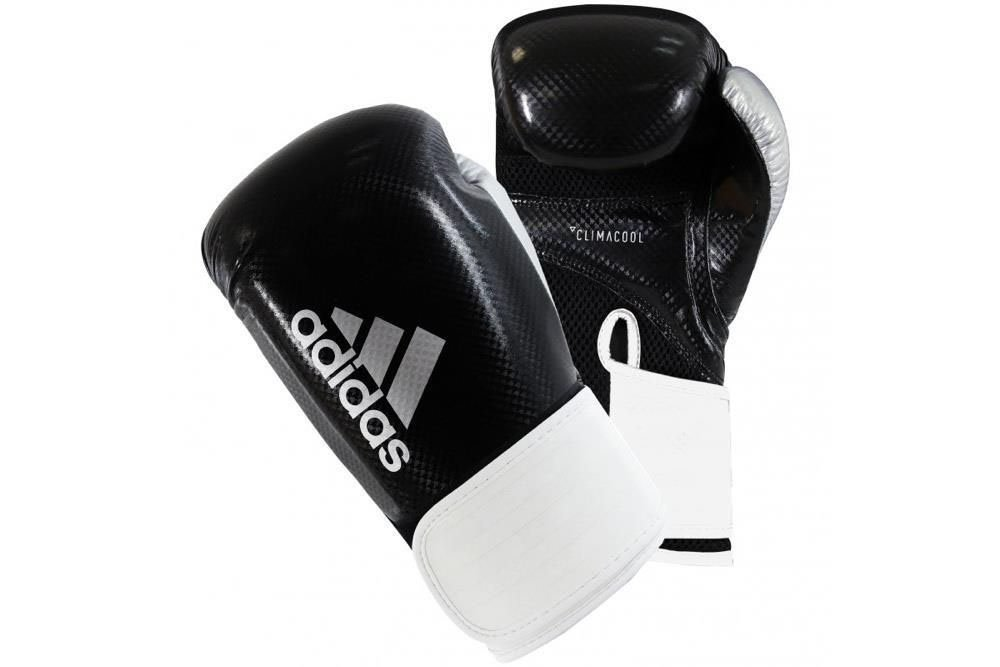 Adidas Hybrid 65 Boxing Gloves White