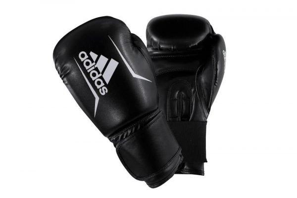Adidas Kids Speed 50 Boxing Gloves Black White