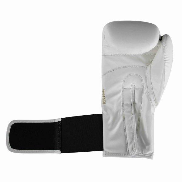 Adidas Kids Speed 50 Boxing Gloves White