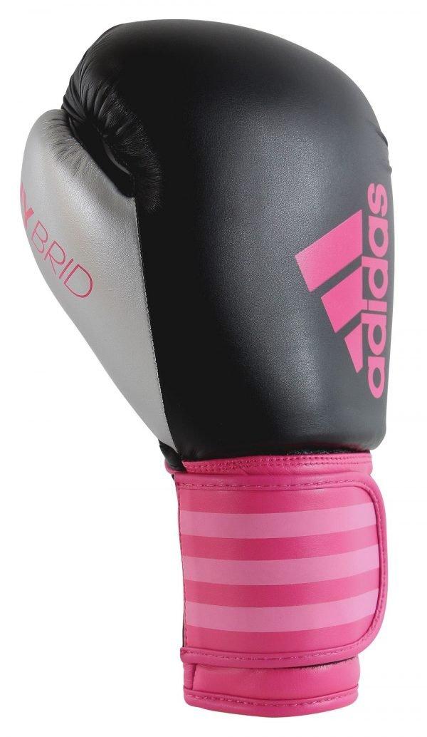 Adidas Womens Hybrid 100 Boxing Gloves Pink