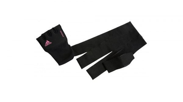 Adidas Womens Quick Wrap Gel Hand Wraps Black