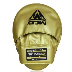 Gold Boxing Pads
