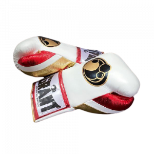 Grant Boxing Gloves White