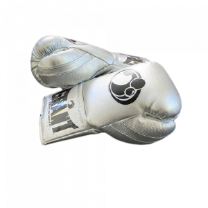 Silver Grant Boxing gloves