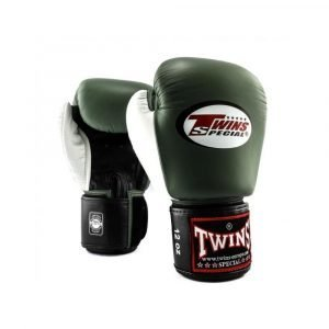 Twins 2 Tone Boxing Gloves - Green White