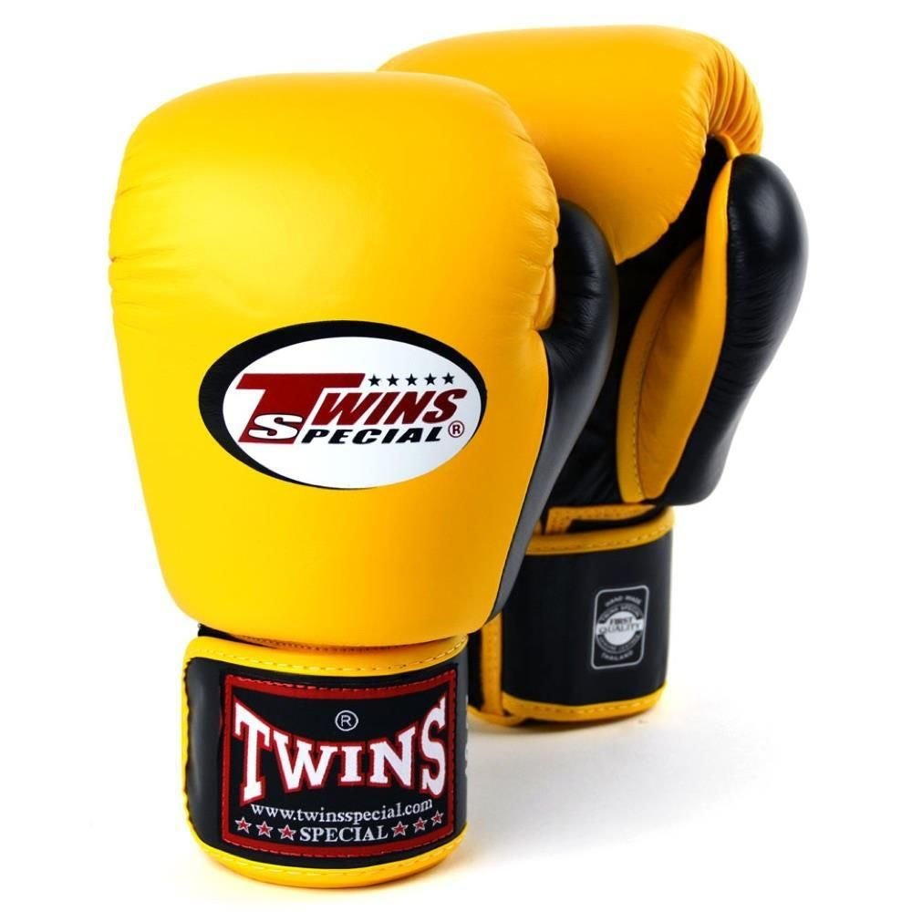 Image of Twins 2 Tone Boxing Gloves BGVL-3T brown 10oz