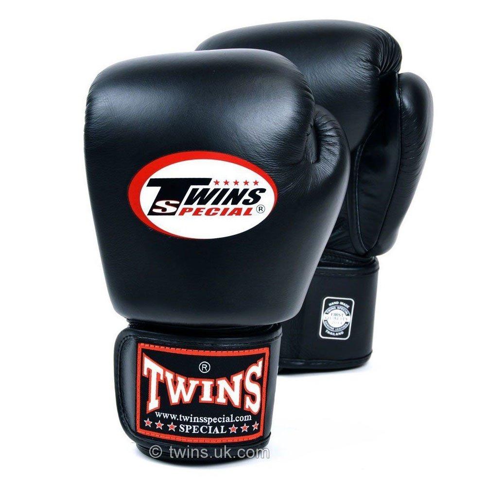 Twins Boxing Gloves black 12oz