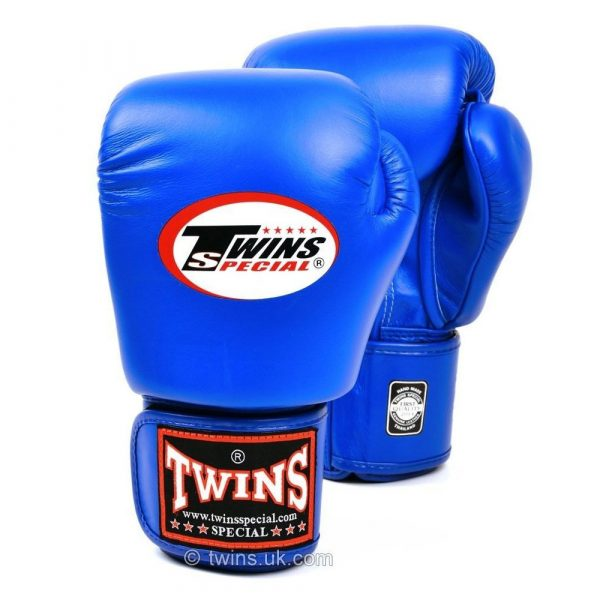 Twins Boxing Gloves - Blue