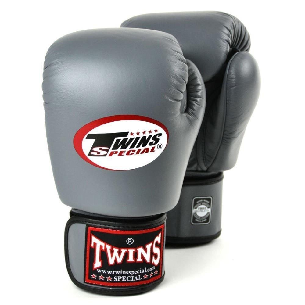 Twins Boxing Gloves grey 12oz