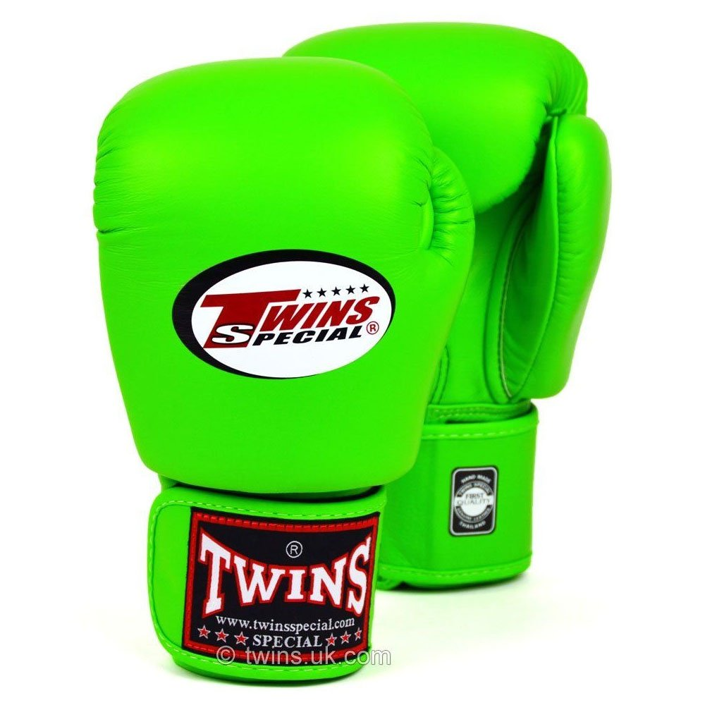 Twins Boxing Gloves lime 12oz
